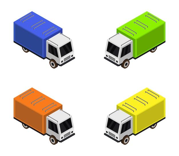 Isometric truck set