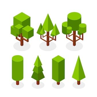 Изометрический тип коллекции деревьев