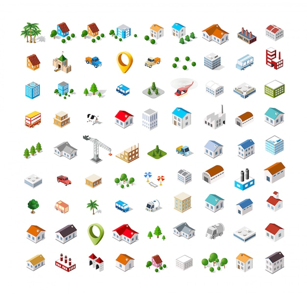 Isometric vector icon