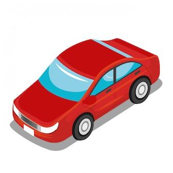 Isometric vehicle