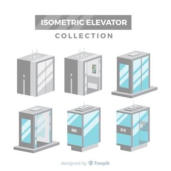 현대 엘리베이터 컬렉션의 아이소 메트릭 뷰
