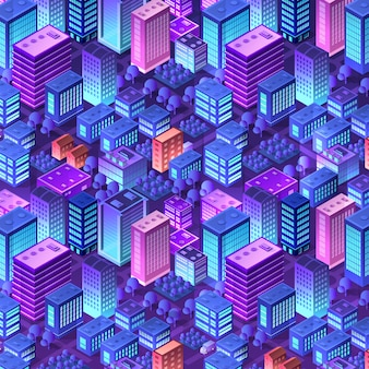 Isometric violet purple