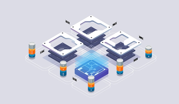 Isometric virtual reality and software development