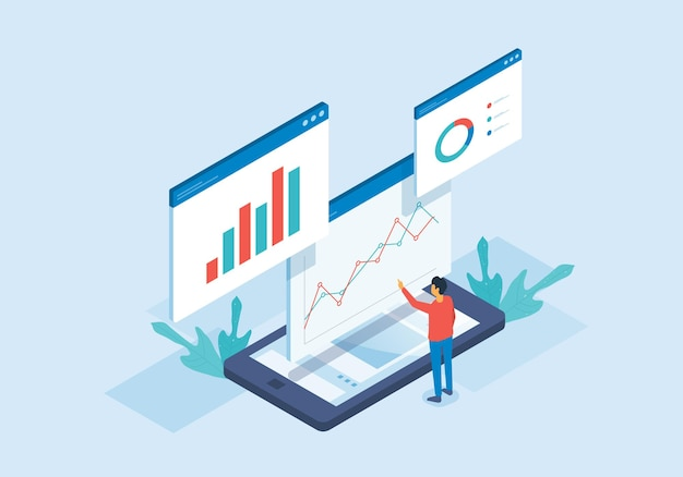 等尺性ウェブ分析とデータ分析のために働く人々