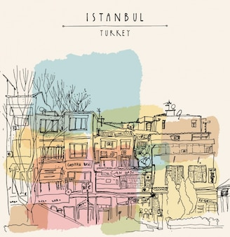 Background design istanbul
