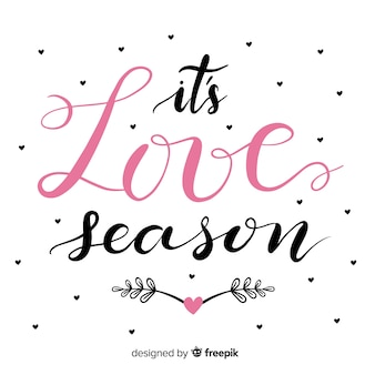 It's love season