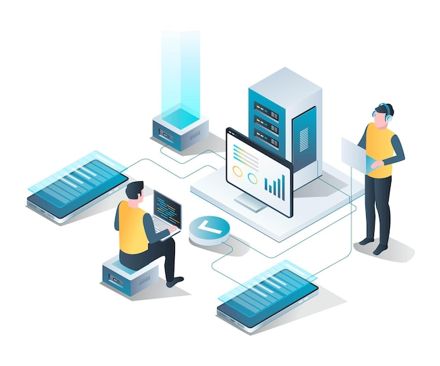 It support and application maintenance in isometric design