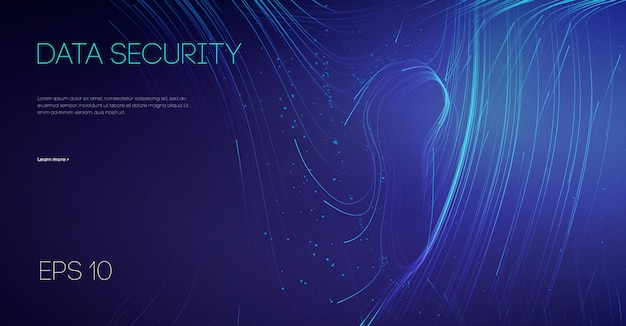 Защита данных электронной почты в облаке ит-команды. блокировка защиты сетевой безопасности. информационные технологии кибербезопасности.