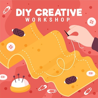 Do it yourself creative sewing workshop