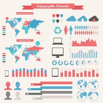 It業界のインフォグラフィック要素