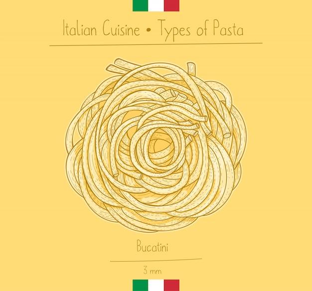 イタリア料理ブカティーニファージトのようなパスタ