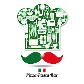 이탈리아 레스토랑 배경