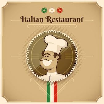 Italian restaurant background