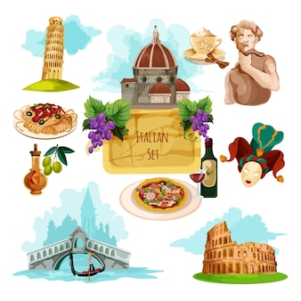 Туристический набор италия