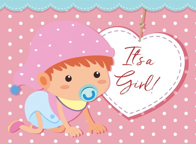 Its a baby girl