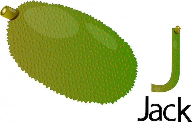 J font with jack