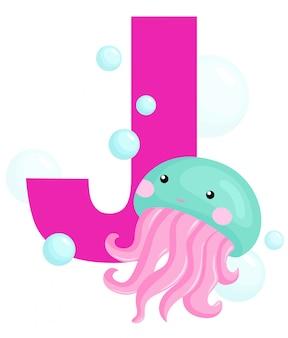 J for jellyfish