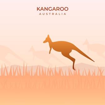 オーストラリアのカンガルーj