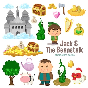 Jack and the beanstalk character series