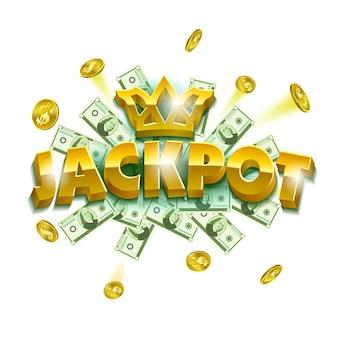 Jackpot casino banner.