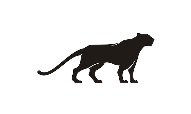 Дизайн логотипа jaguar / puma / lion