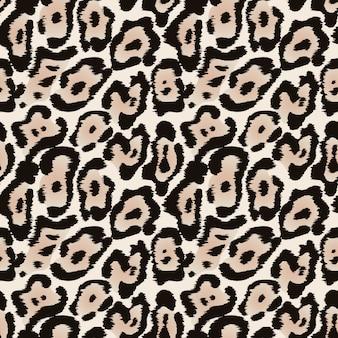 ジャガーのシームレスなパターンまたはヒョウの毛皮のテクスチャ
