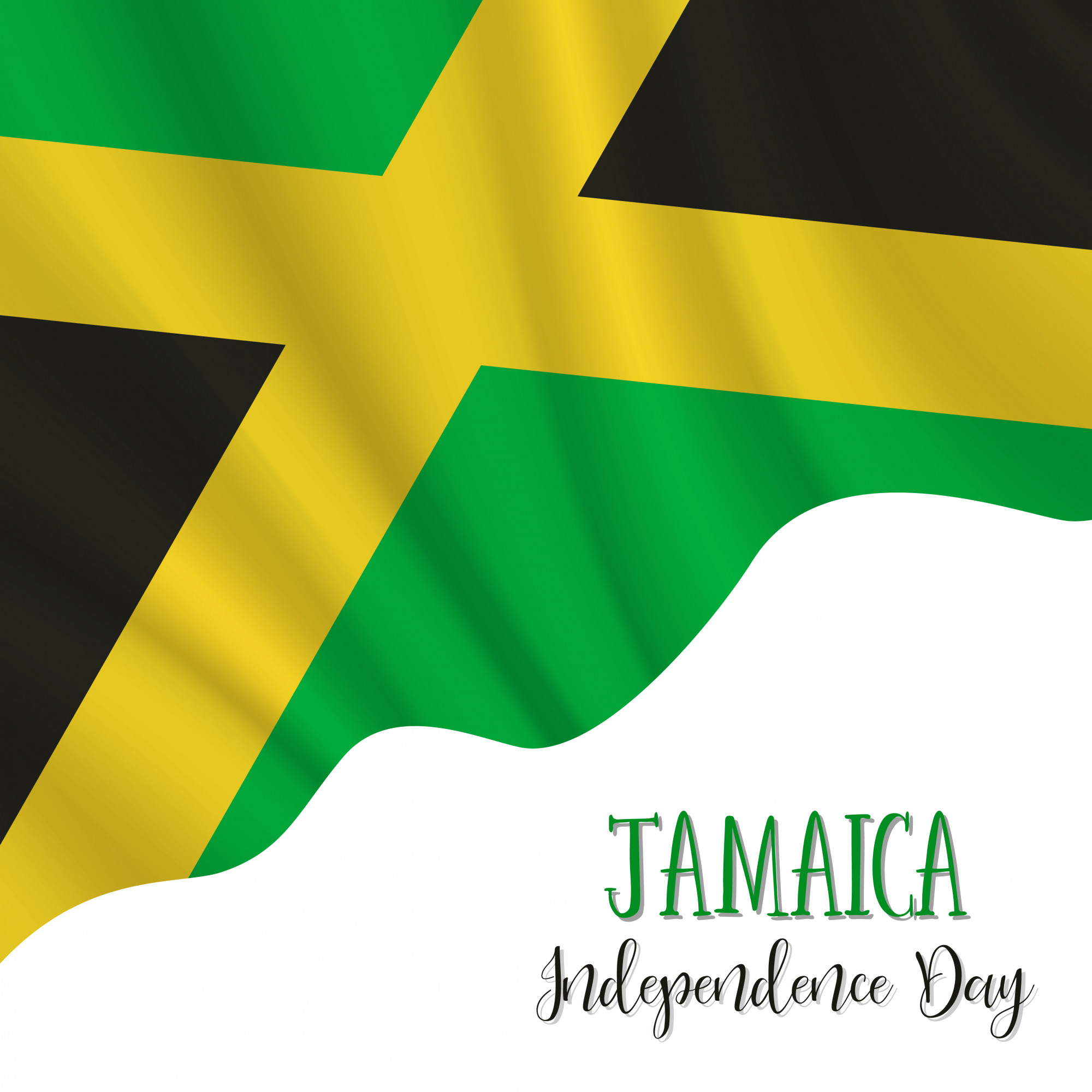 Jamaica Independence Day background
