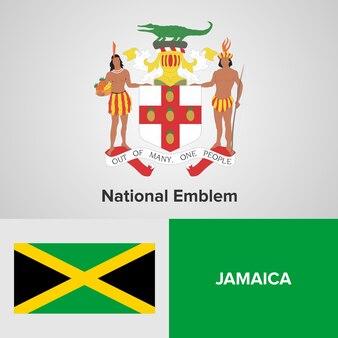 ジャマイカ国旗と旗