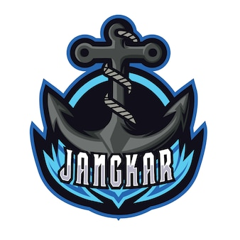 Jangkar e sports logo