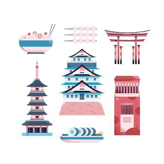 日本の概念図