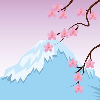 日本の国のデザイン、ベクトルイラストeps10グラフィック