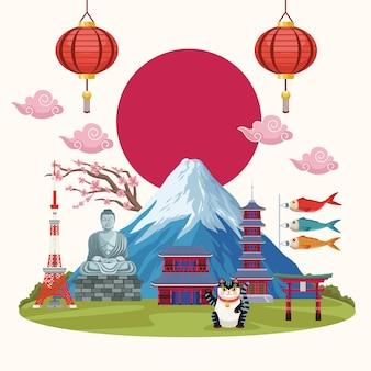 Достопримечательности культуры японии