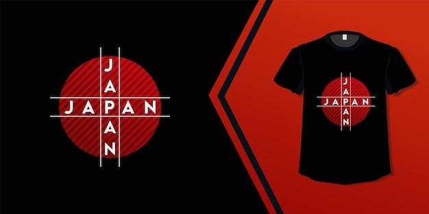日本デザインtシャツ