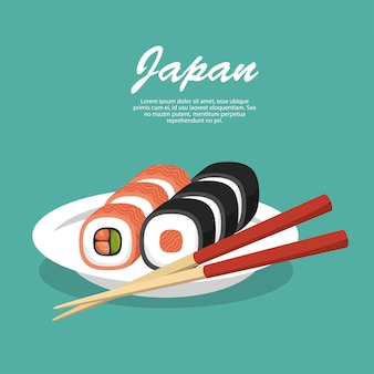 Japan travel food sushi