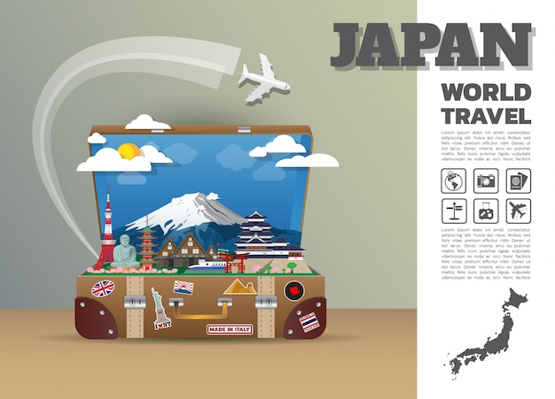Japan travel template