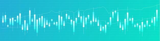 Japanese candlestick chart. online trading. financial market.