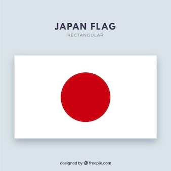 Japanese flag background