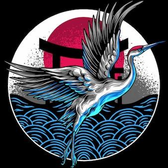 Японские летучие журавли