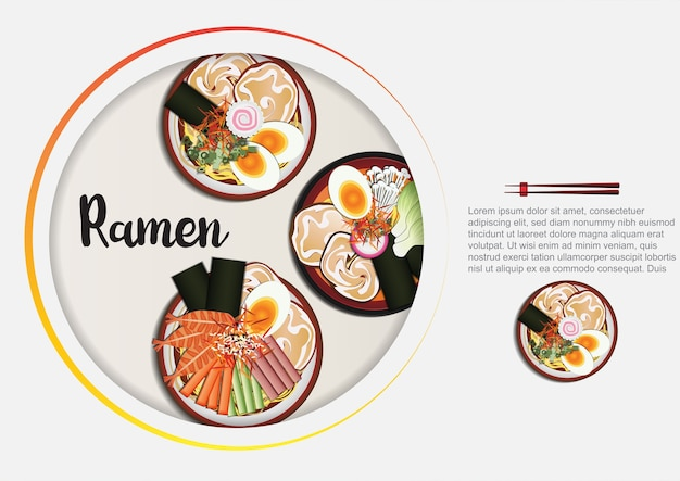Japanese food   background