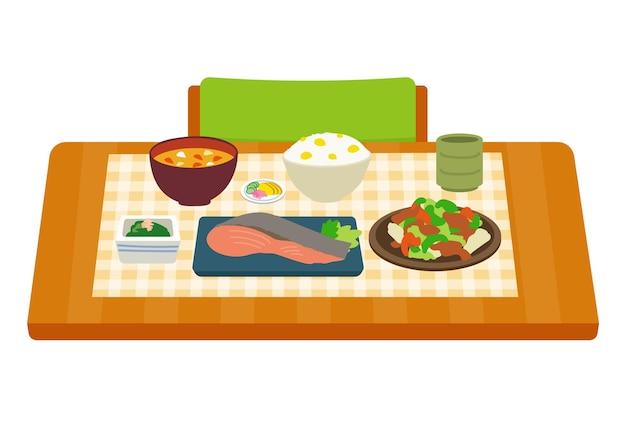 和食テーブル