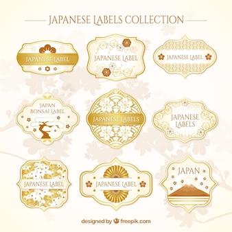 日本のラベルコレクション