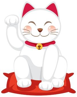 일본 행운의 고양이 maneki neko 만화 캐릭터 절연