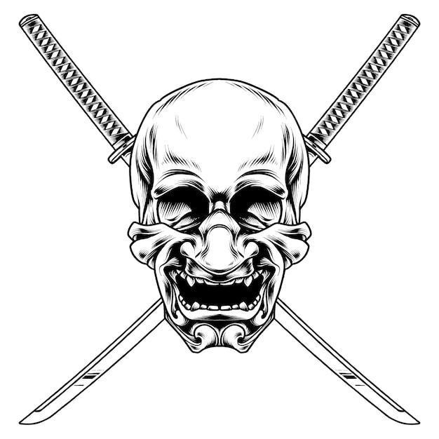 日本のマスクイラストデザイン