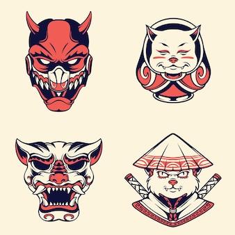日本のマスク