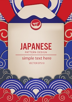 Japanese pattern design