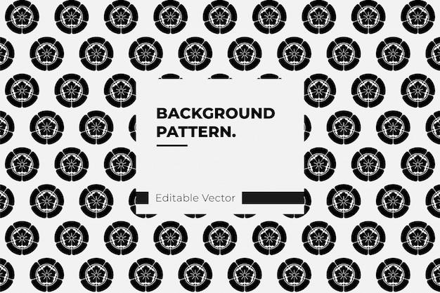Japanese pattern  vector history family crests oda nobunaga