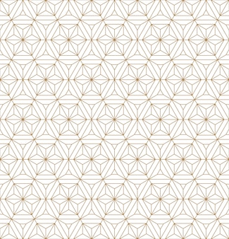 Japanese seamless geometric pattern .