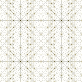 Japanese seamless kumiko pattern in brown fine lines.