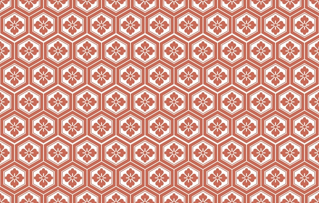Japanese seamless vector vintage pattern