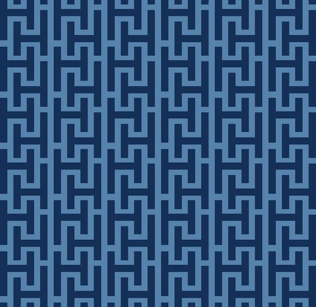 Japanese style retro vintage seamless pattern